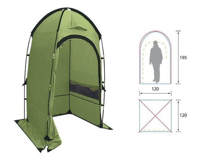 Палатка для туалета или душа